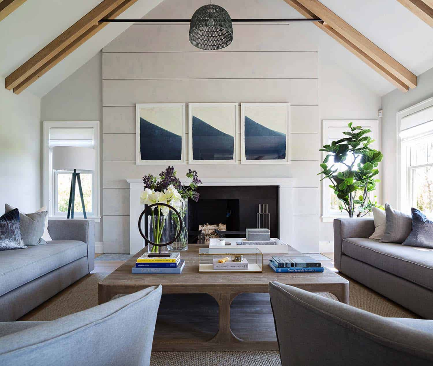 Shingle-style Nantucket beach home infused with nautical ...