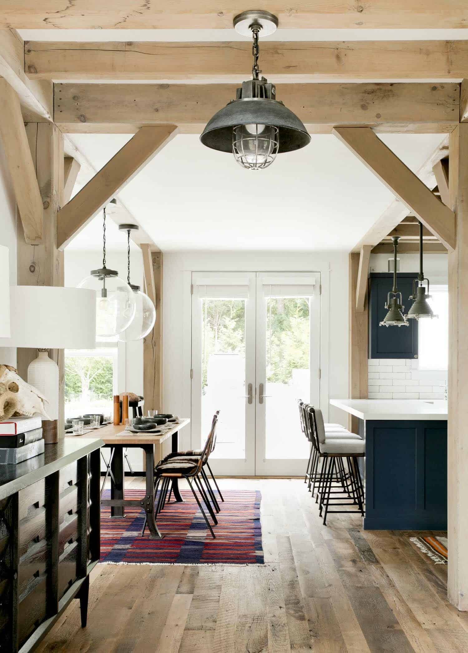 modern farmhouse interior