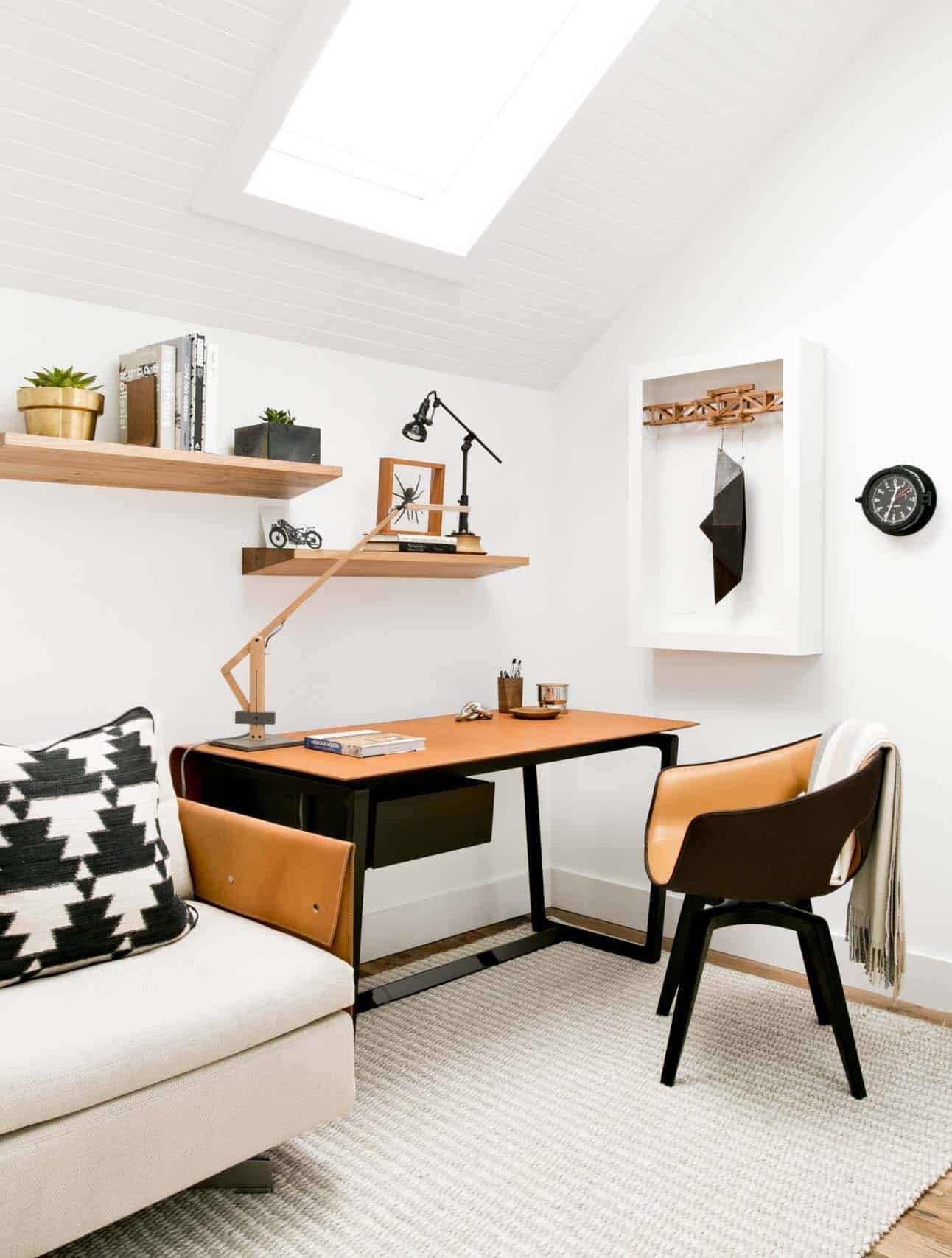 modern farmhouse home office