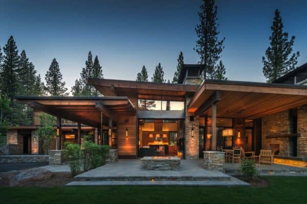 featured posts image for Mountain modern home in Martis Camp with indoor-outdoor living