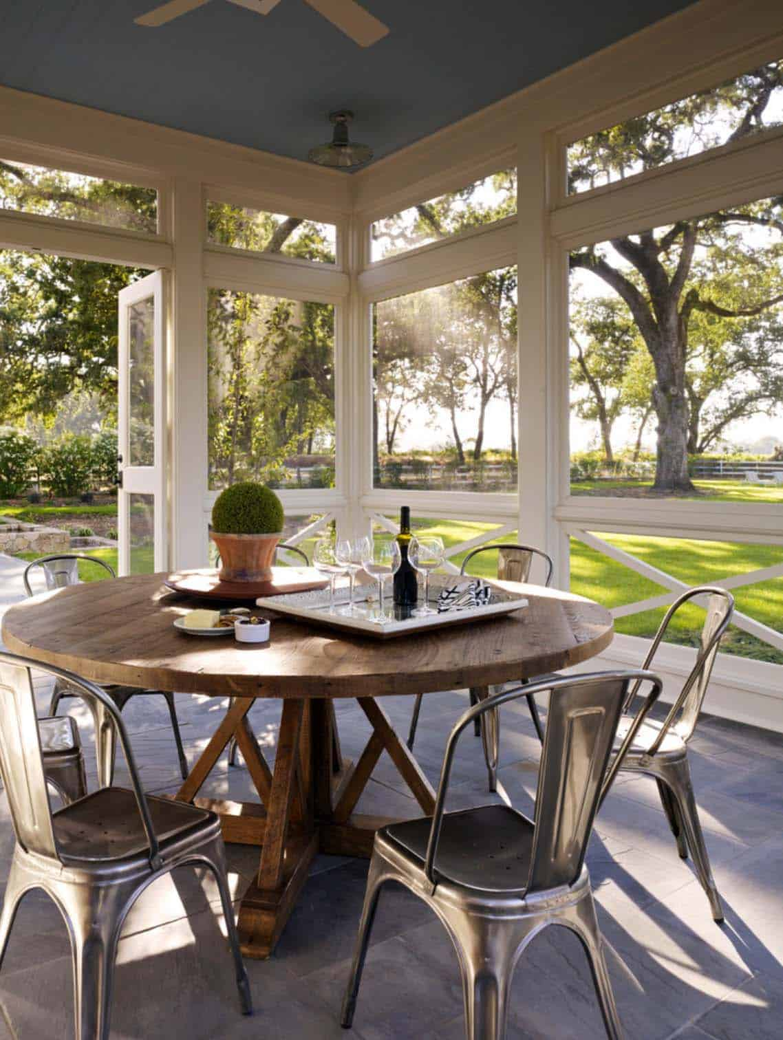 Screened Porch Design Ideas-05-1 Kindesign