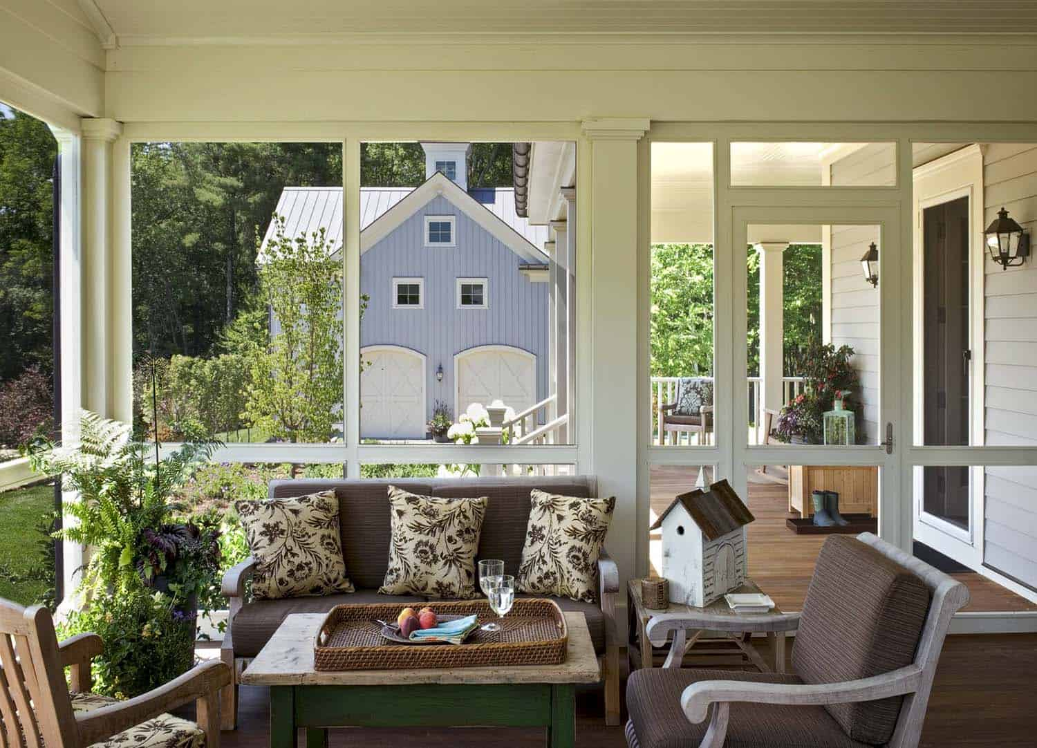 Screened In Porch Designs : Amazingly cozy and relaxing screened porch design ideas