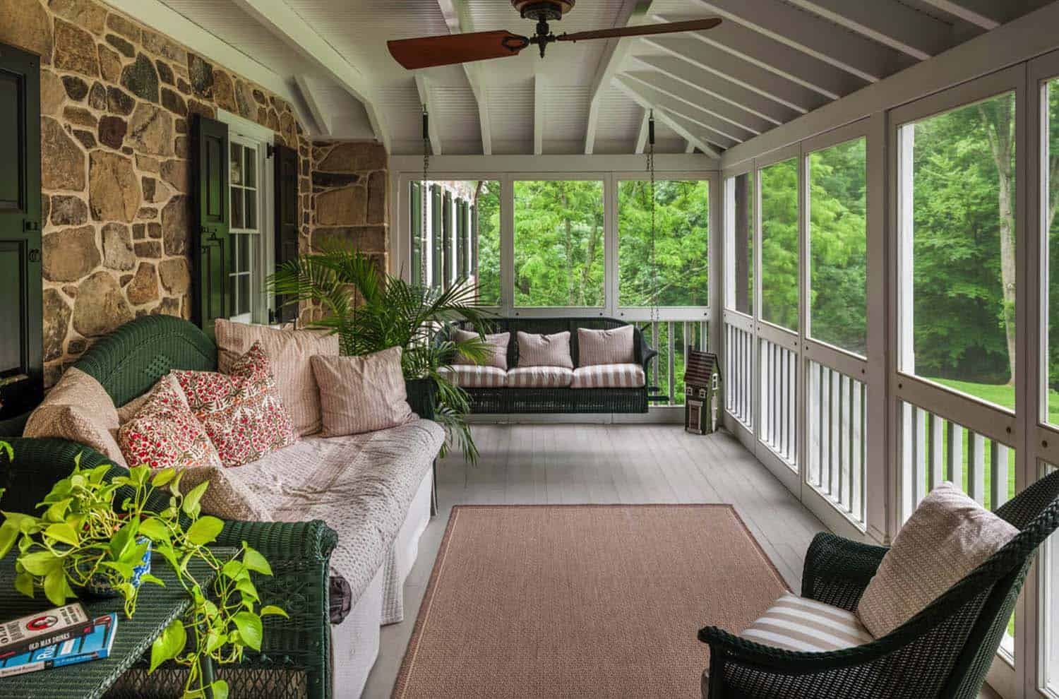 screened porch design ideas 09 1 kindesign - Porch Ideas