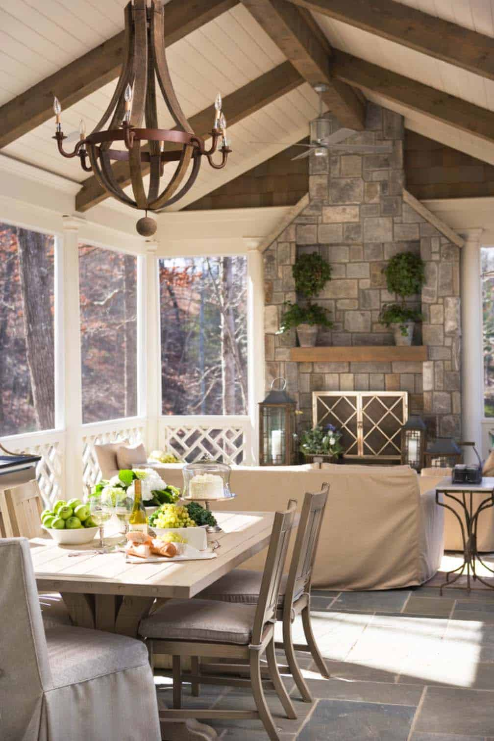 Screened Porch Design Ideas-11-1 Kindesign