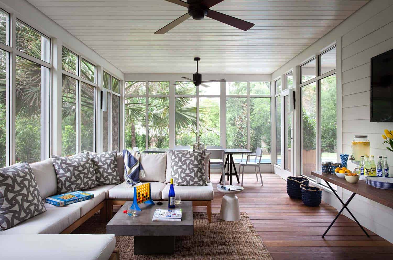 Screened Porch Design Ideas-15-1 Kindesign