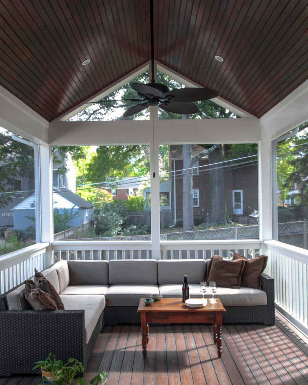 screened porch design ideas 24 1 kindesign - Porch Ideas