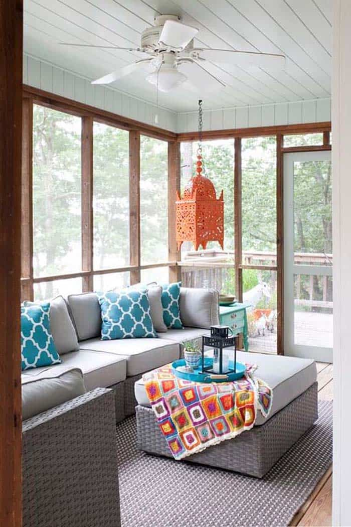Screened Porch Design Ideas-26-1 Kindesign