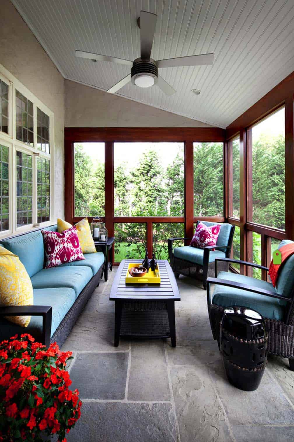 Screened Porch Design Ideas-27-1 Kindesign