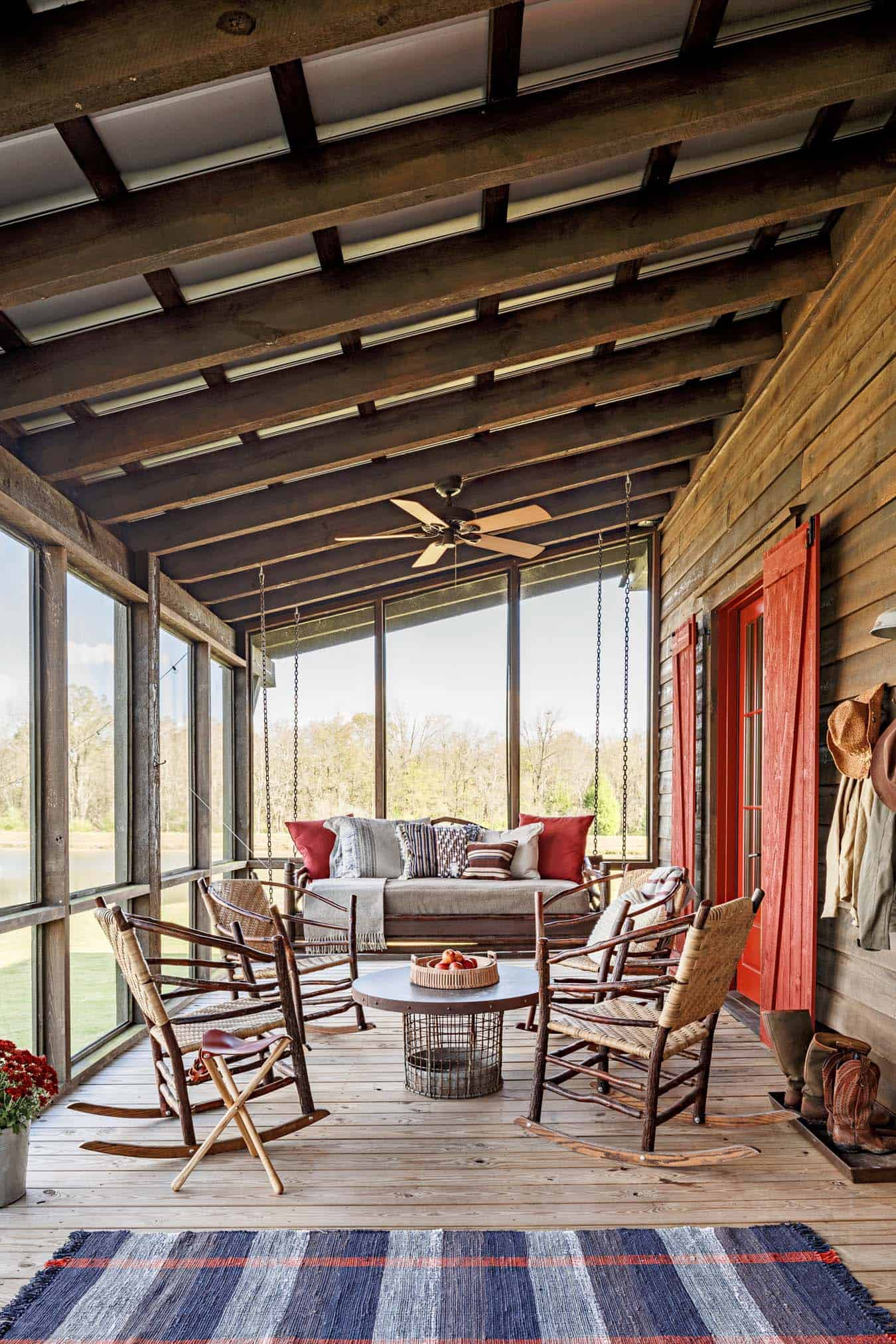 Screened Porch Design Ideas-30-1 Kindesign