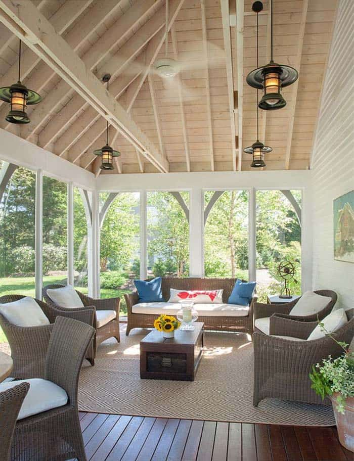 Beautiful porch design ideas contemporary for Beautiful veranda designs