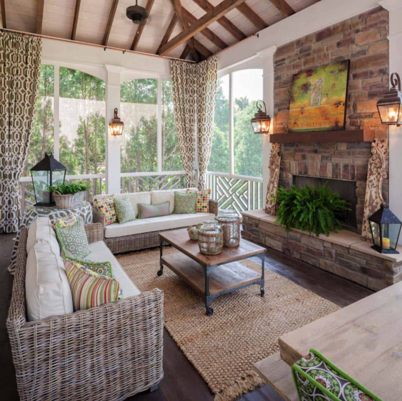 Screened Porch Design Ideas-35-1 Kindesign