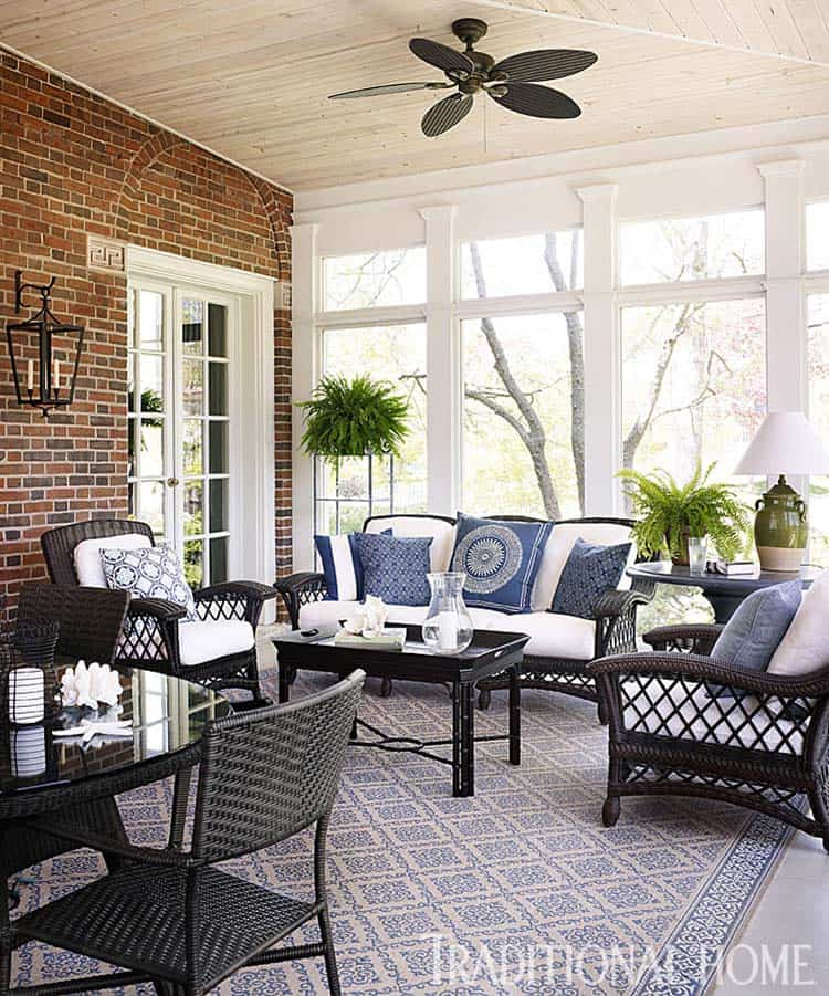 Screened Porch Design Ideas 37 1 Kindesign