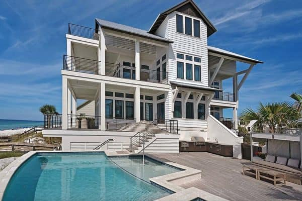 featured posts image for Seaside cottage with stylish details in Santa Rosa Beach, Florida