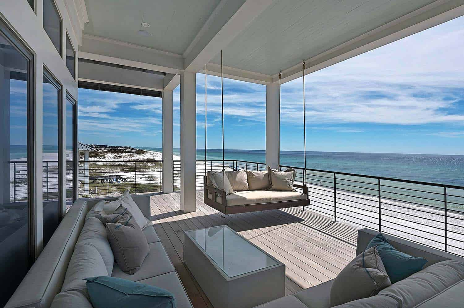 Seaside cottage with stylish details in Santa Rosa Beach Florida