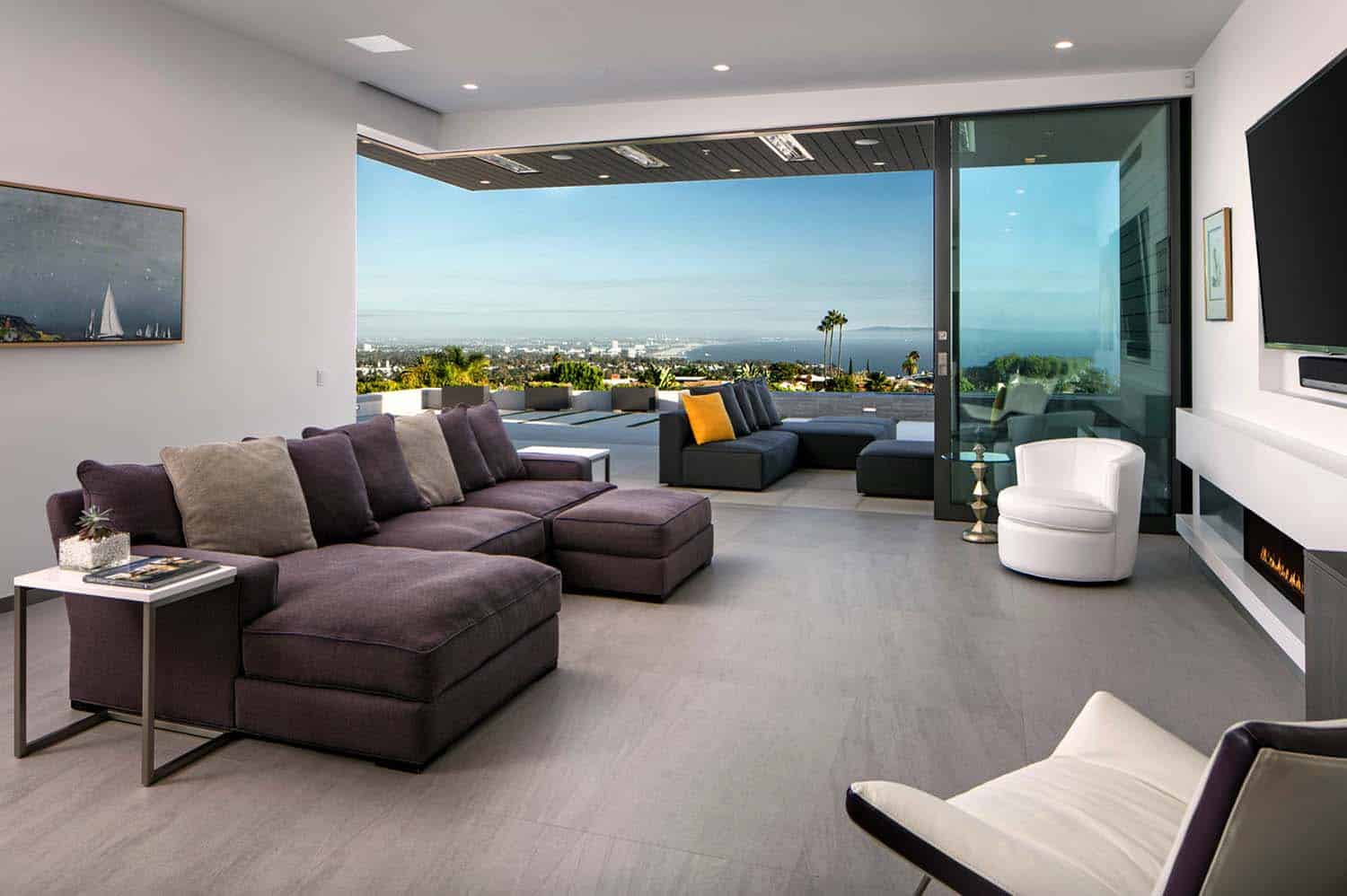 Striking Contemporary Home Abramson Teiger Architects 04 1 Kindesign. Striking contemporary home overlooking the Santa Monica Bay