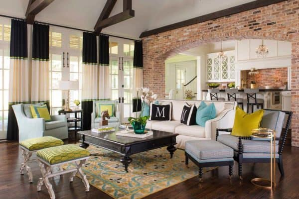 featured posts image for Delightful farmhouse-inspired residence in Texas with stylish interiors
