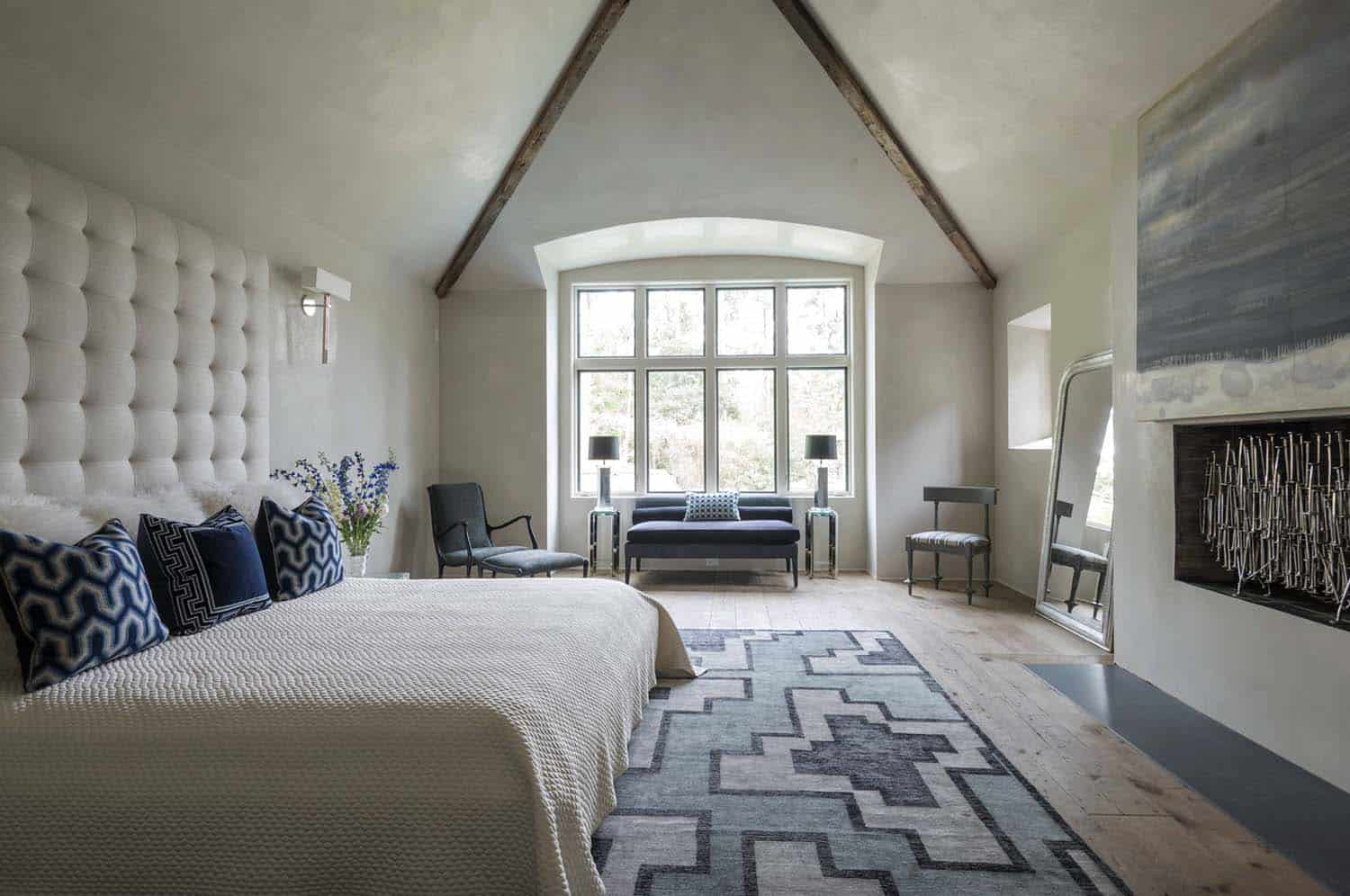 French Normandy Chateau-Bankston May Associates-20-1 Kindesign