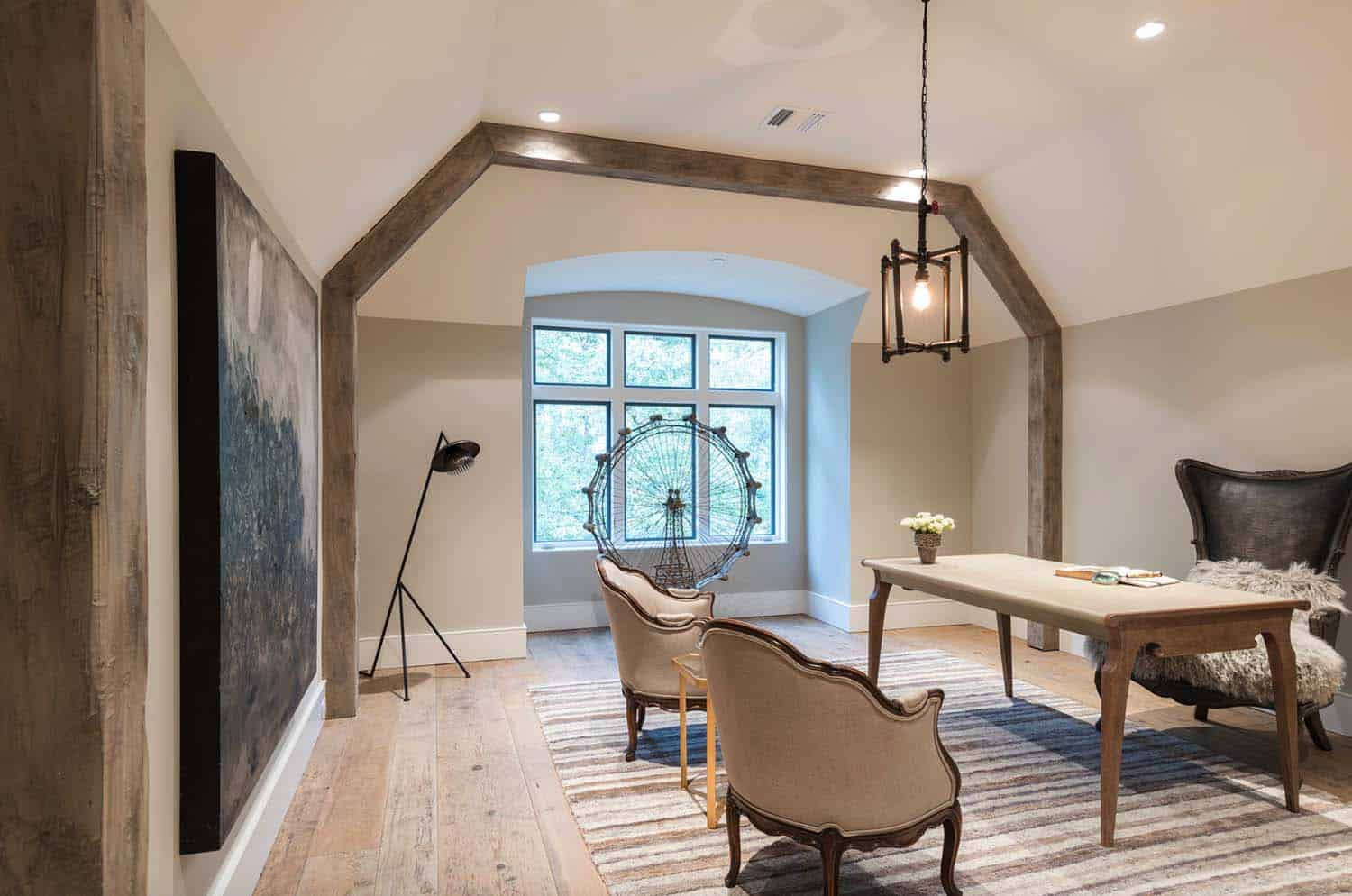 French Normandy Chateau-Bankston May Associates-28-1 Kindesign