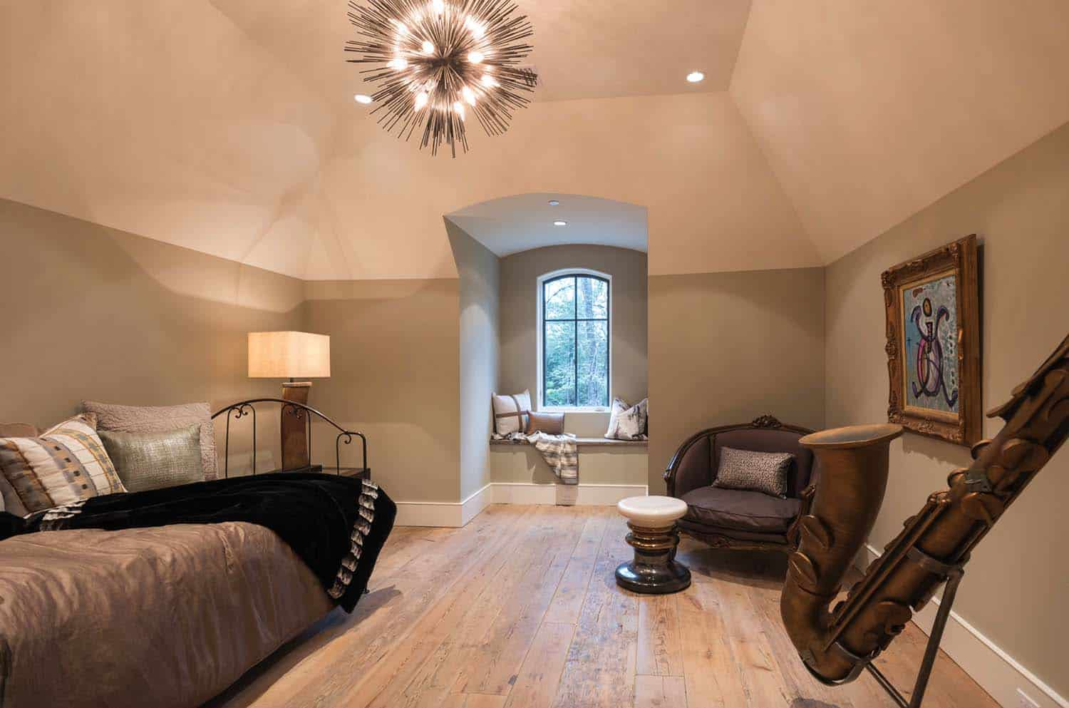 French Normandy Chateau-Bankston May Associates-29-1 Kindesign