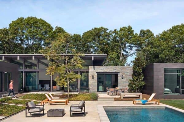 featured posts image for Summer retreat gets a refreshing modern update on Long Island