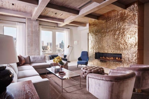 featured posts image for Stylish and sophisticated apartment with Dallas skyline views