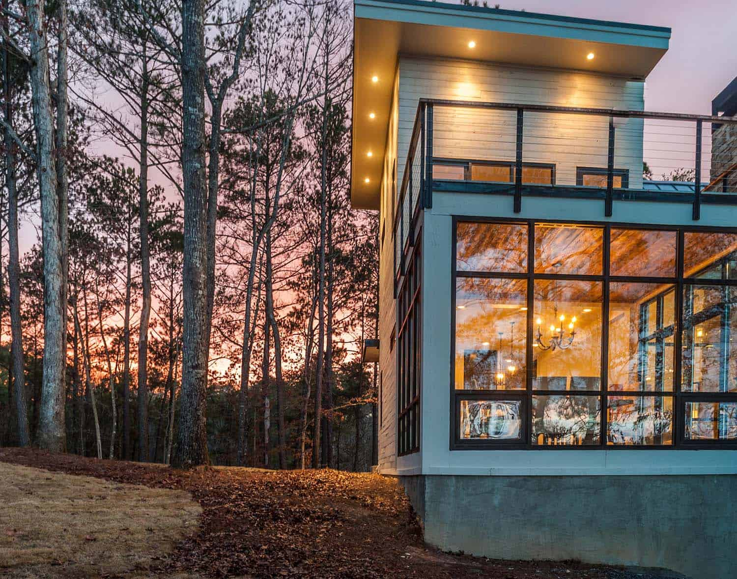 Modern Lake House-Christopher Architecture-02-1 Kindesign