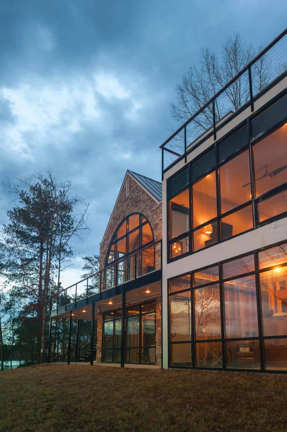 Modern Lake House-Christopher Architecture-05-1 Kindesign