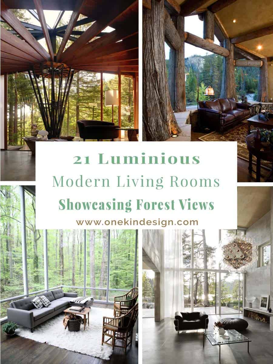 Modern Living Rooms Forest Views-00-1 Kindesign