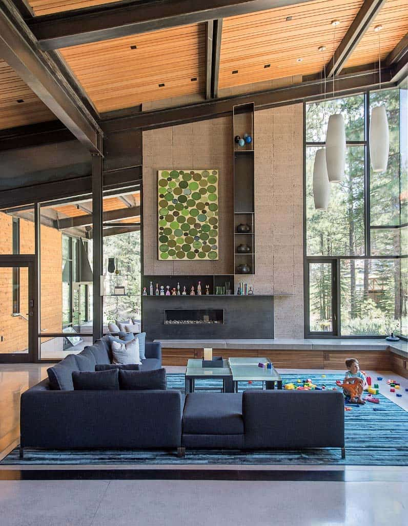 Modern Living Rooms Forest Views-03-1 Kindesign
