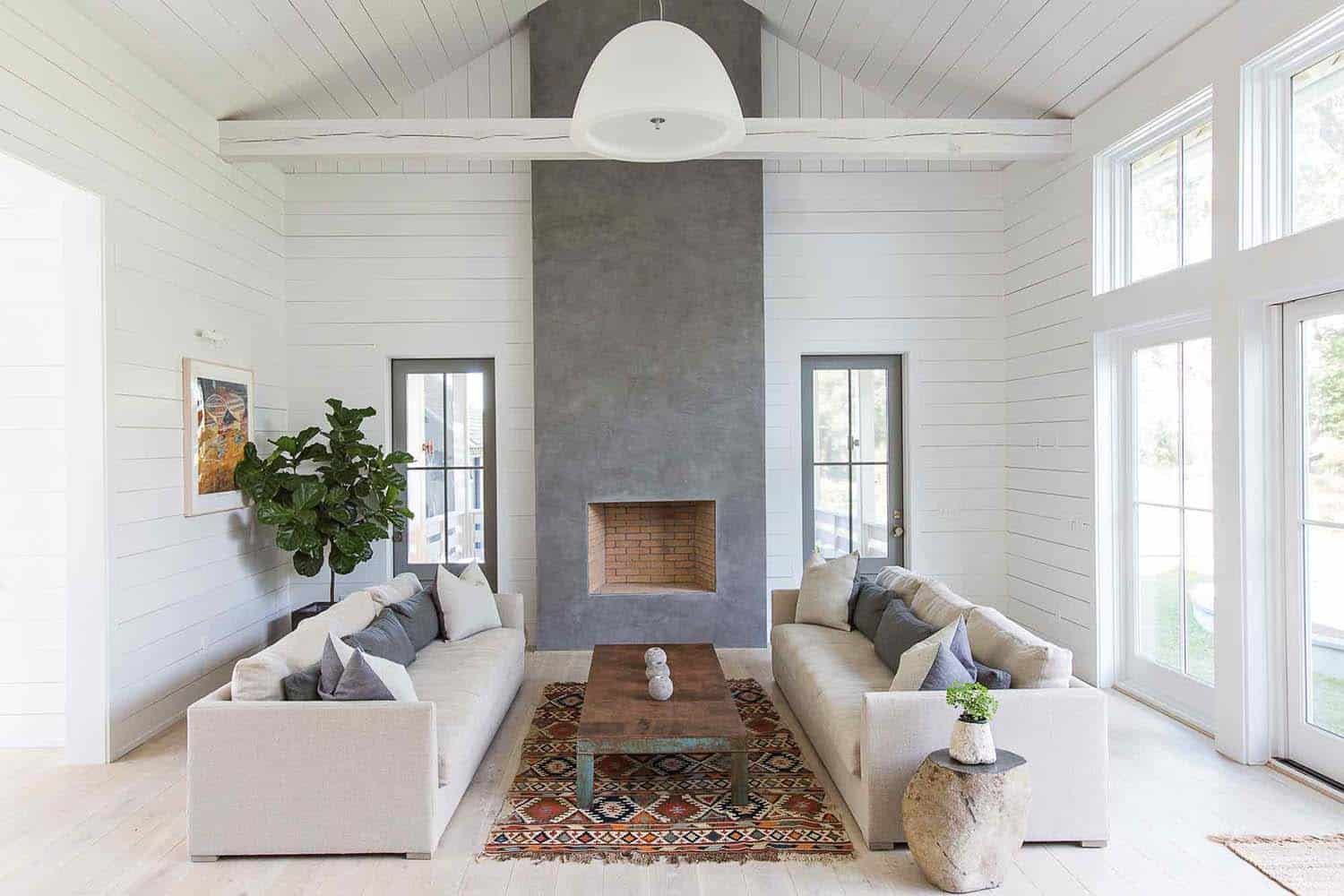 Modern Organic Beach Cottage-Cortney Bishop Design-06-1 Kindesign