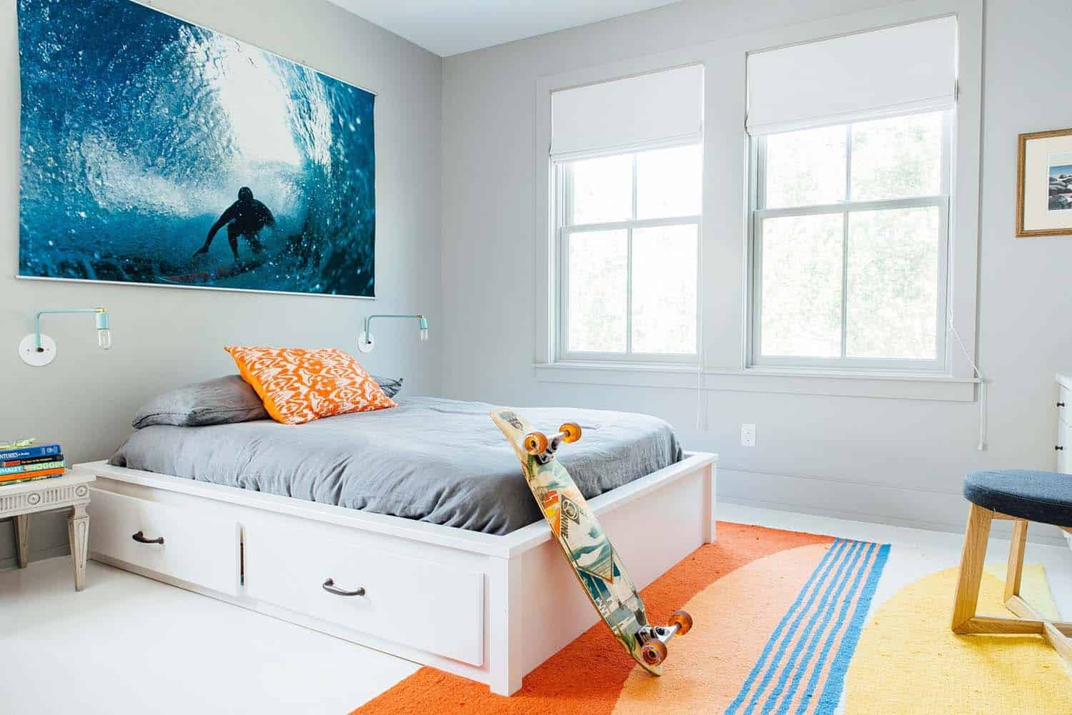 Modern Organic Beach Cottage-Cortney Bishop Design-16-1 Kindesign