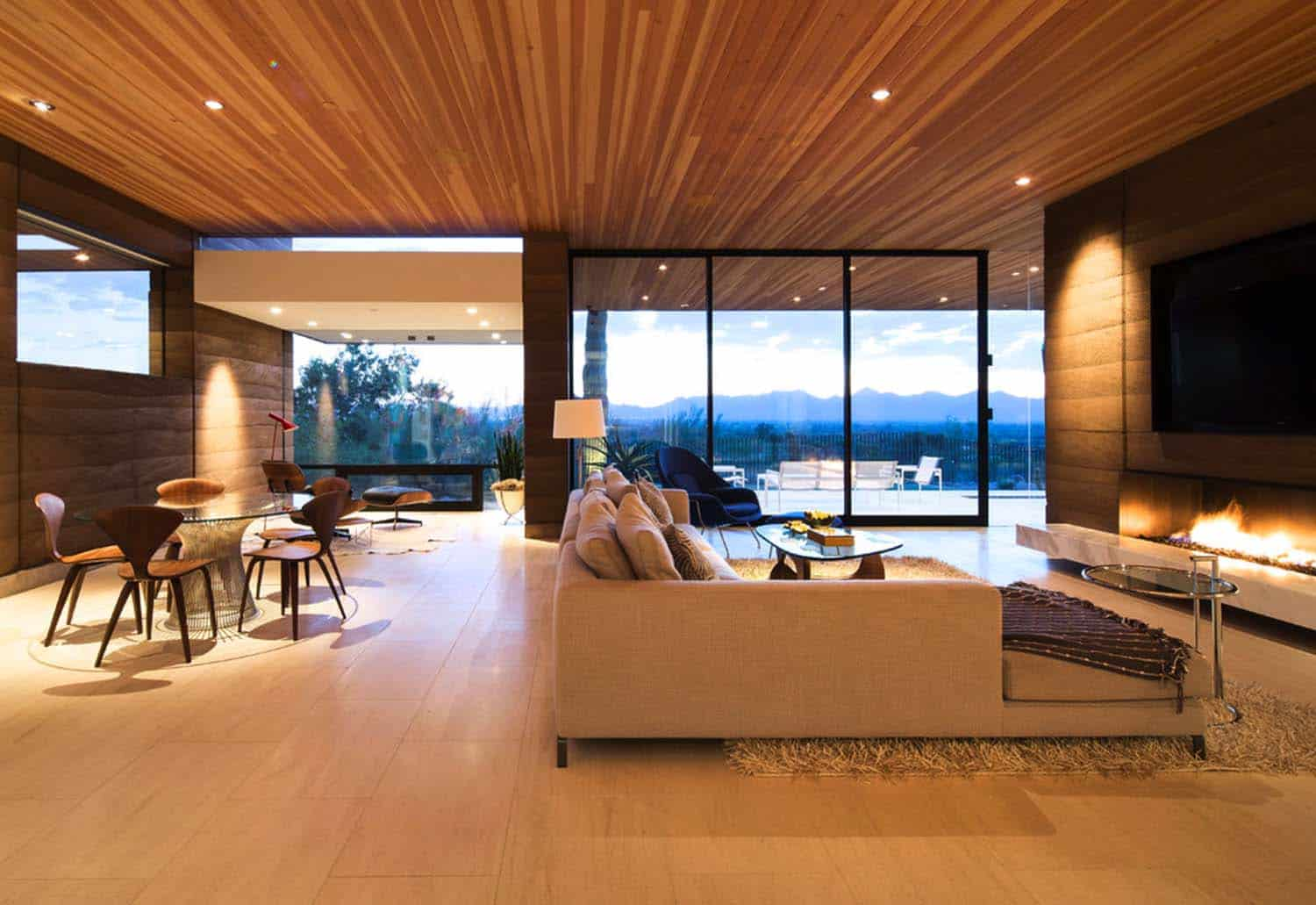 Modern Rammed Earth Home-Kendle Design-03-1 Kindesign