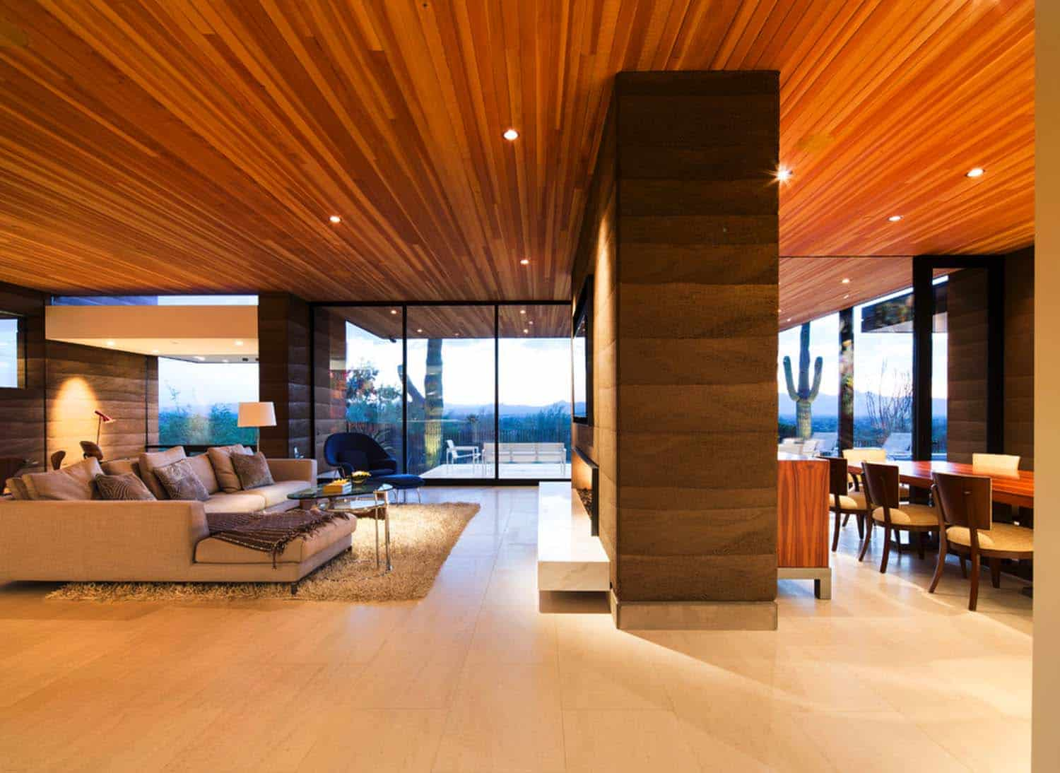 Modern Rammed Earth Home-Kendle Design-06-1 Kindesign