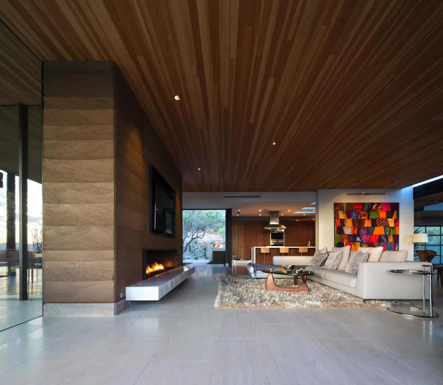 Modern Rammed Earth Home-Kendle Design-12-1 Kindesign