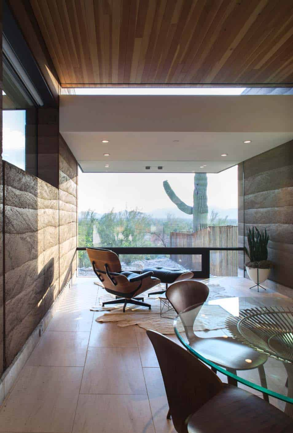 Modern Rammed Earth Home-Kendle Design-13-1 Kindesign