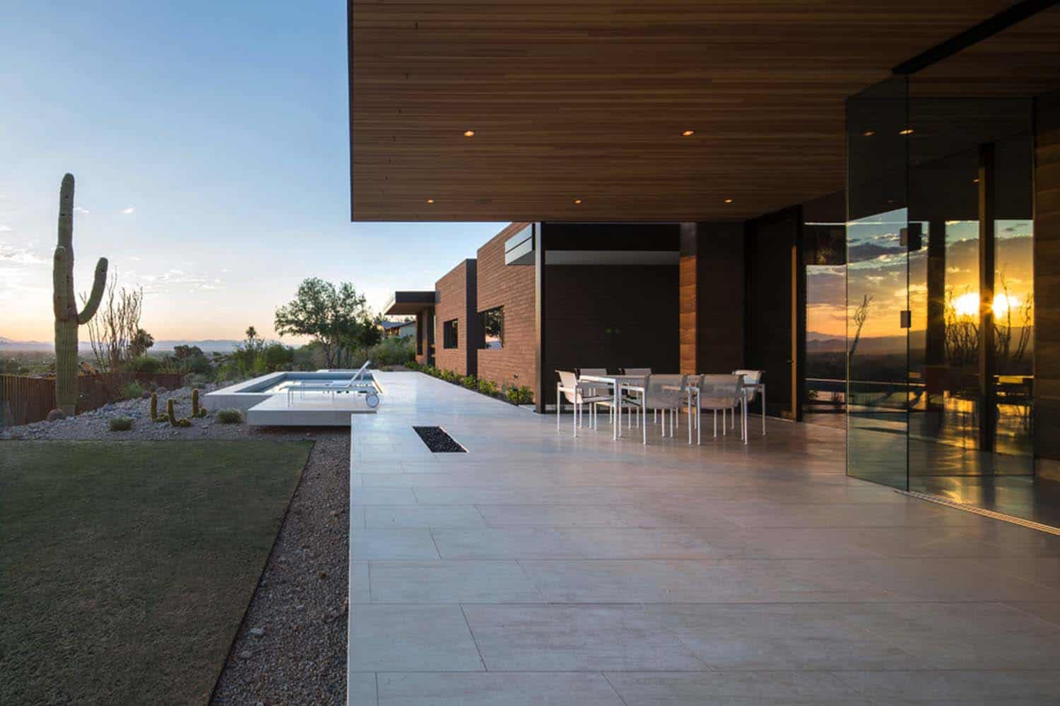 Modern Rammed Earth Home-Kendle Design-17-1 Kindesign