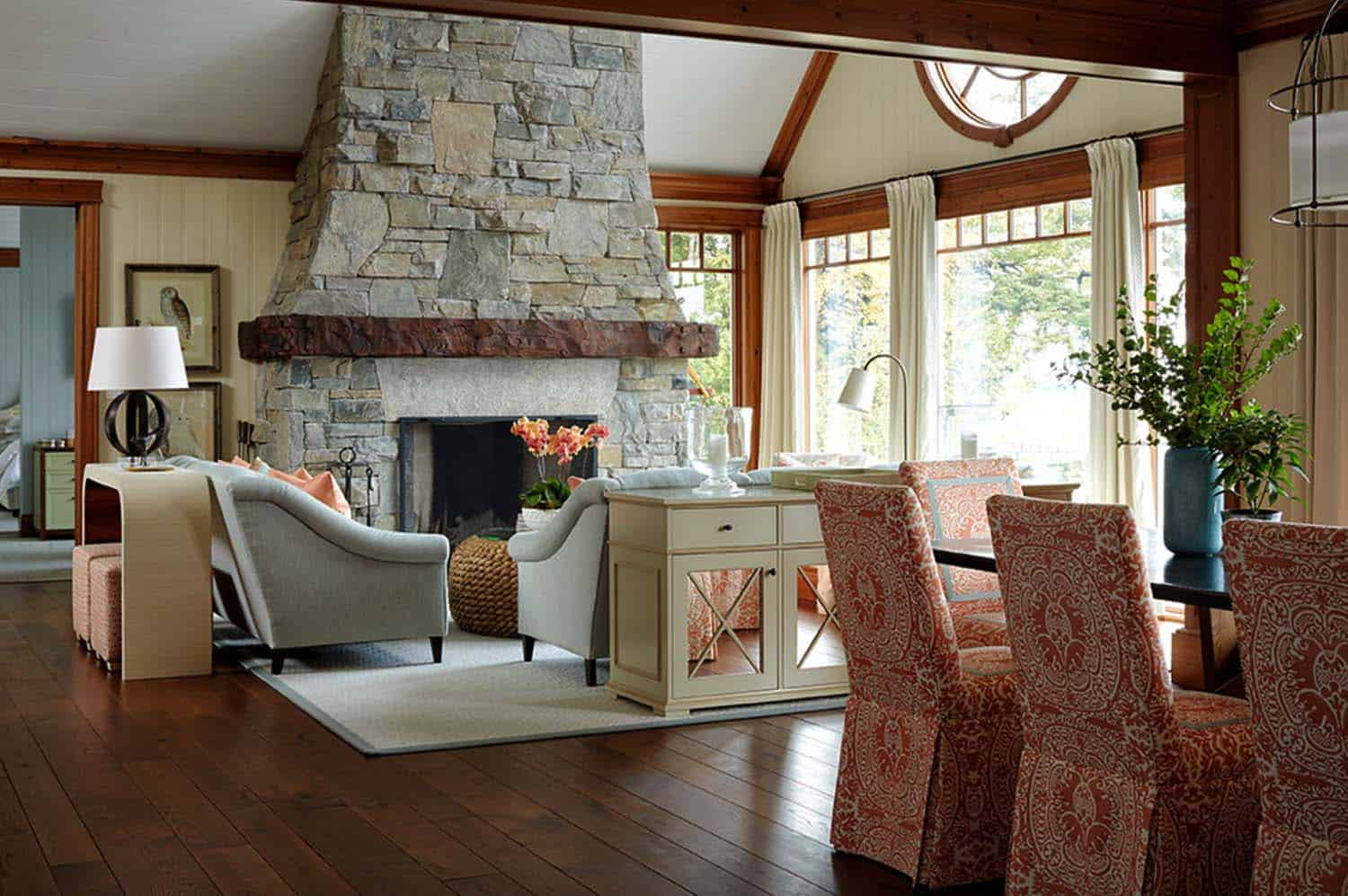 Muskoka Lake House-Anne Hepfer Designs-04-1 Kindesign