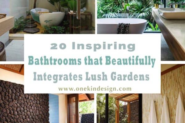 featured posts image for 20 Inspiring bathrooms that beautifully integrates lush gardens