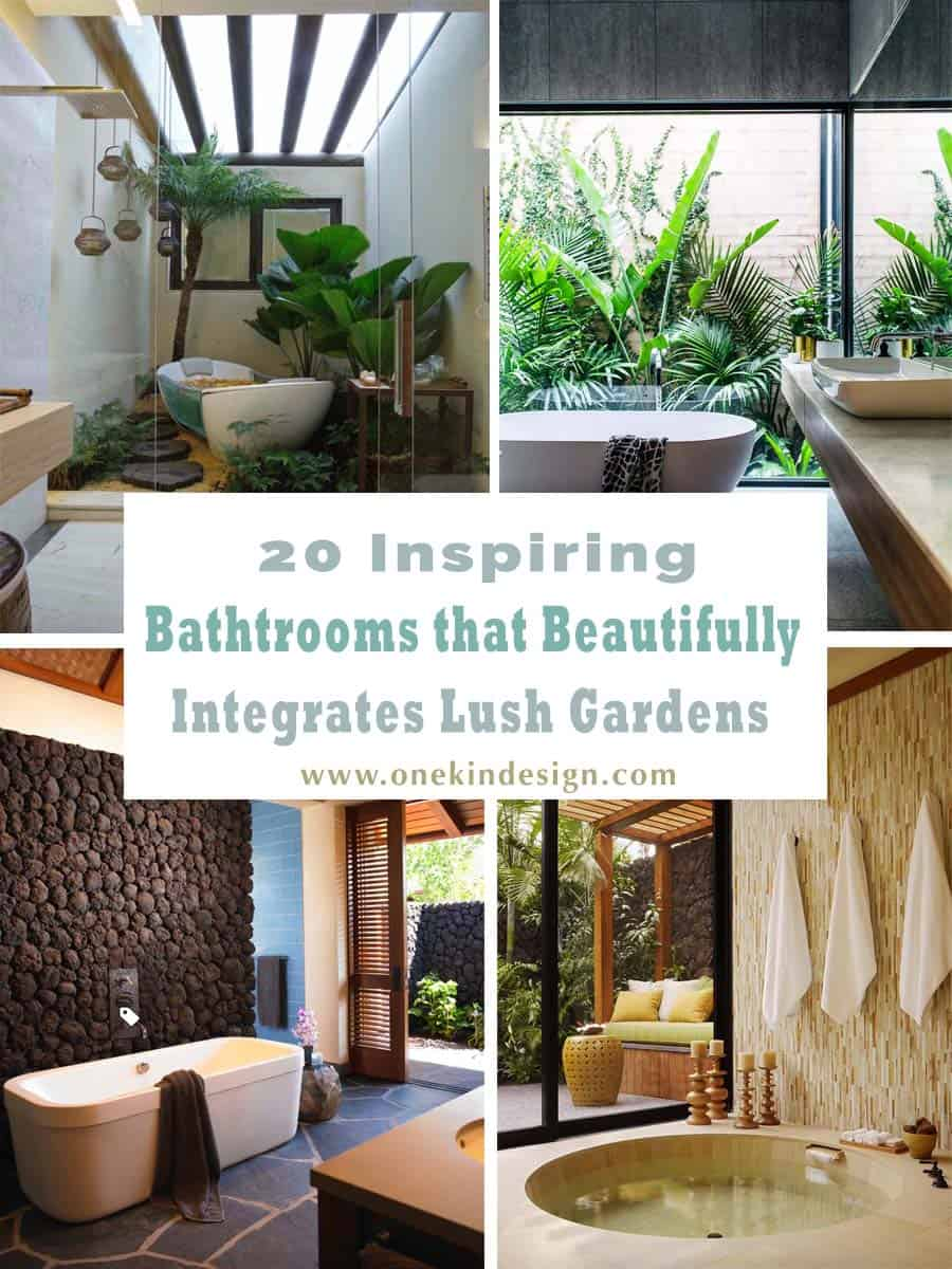 Inspiring Bathrooms Integrating Lush Gardens-01-1 Kindesign