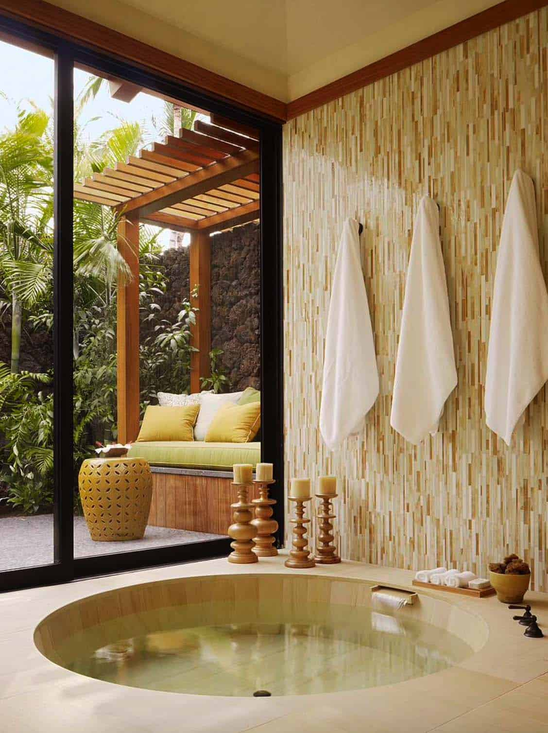 Inspiring Bathrooms Integrating Lush Gardens-18-1 Kindesign