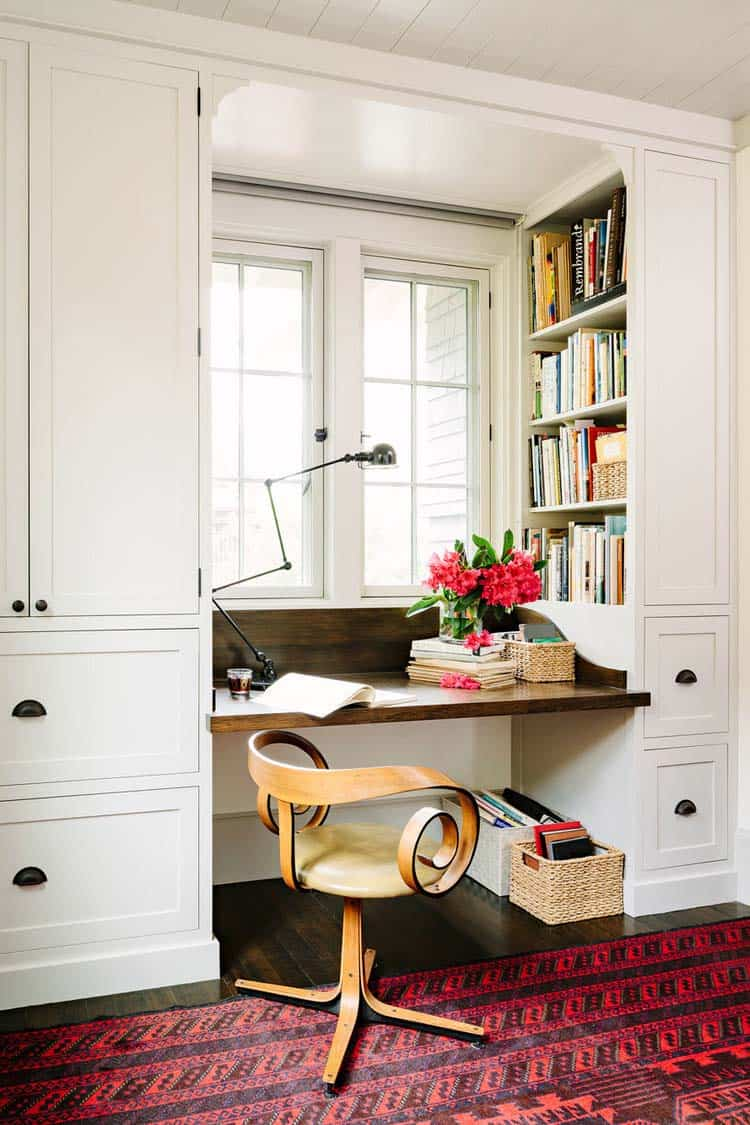 Inviting Library House-Jessica Helgerson-13-1 Kindesign