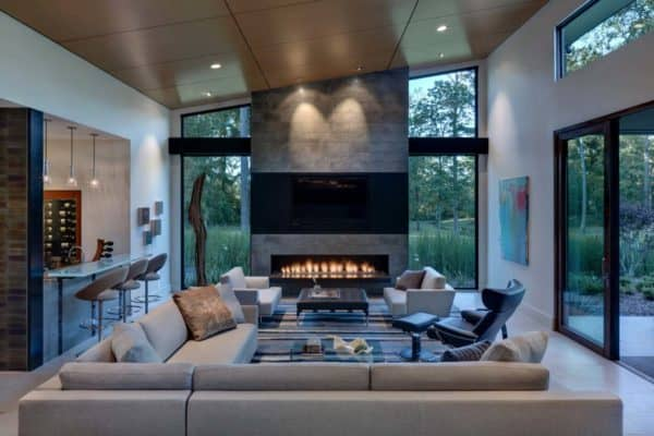 featured posts image for Luxurious contemporary estate in Texas merges indoor-outdoor living