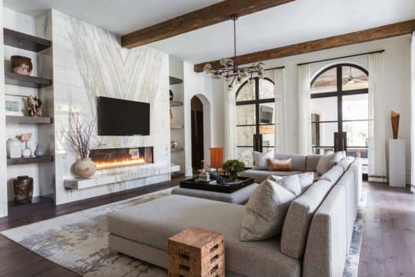featured posts image for Mediterranean style Texan home with light-flooded interiors
