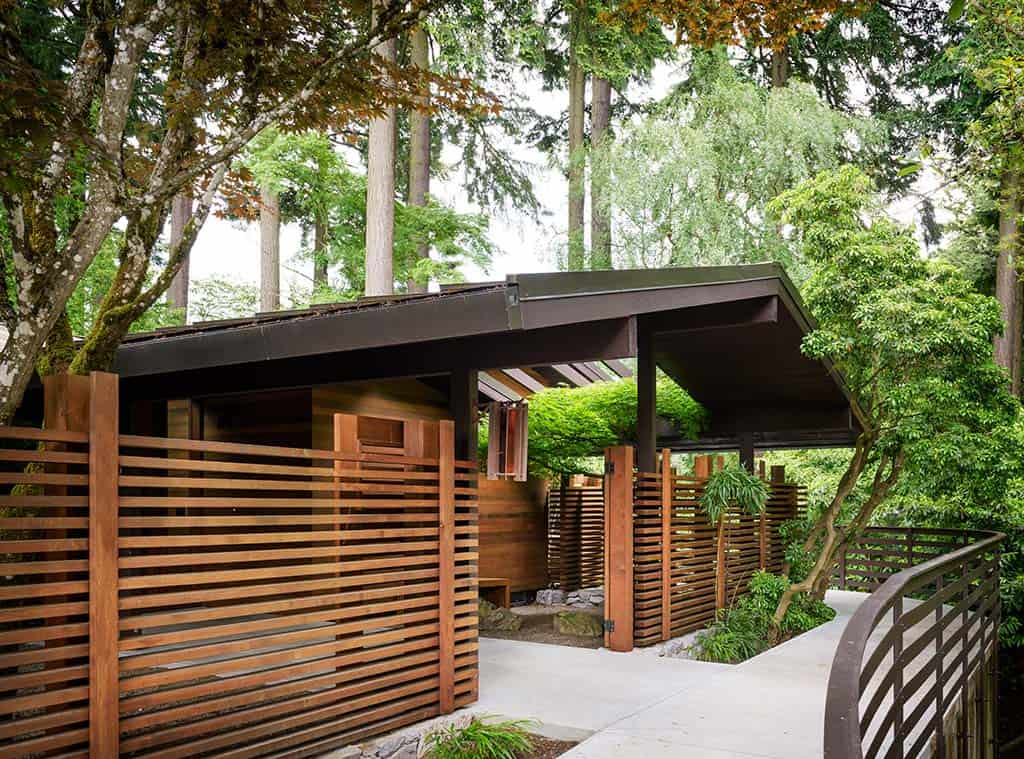 Mid Century Home In Portland Celebrates Its History With A Fresh Facelift