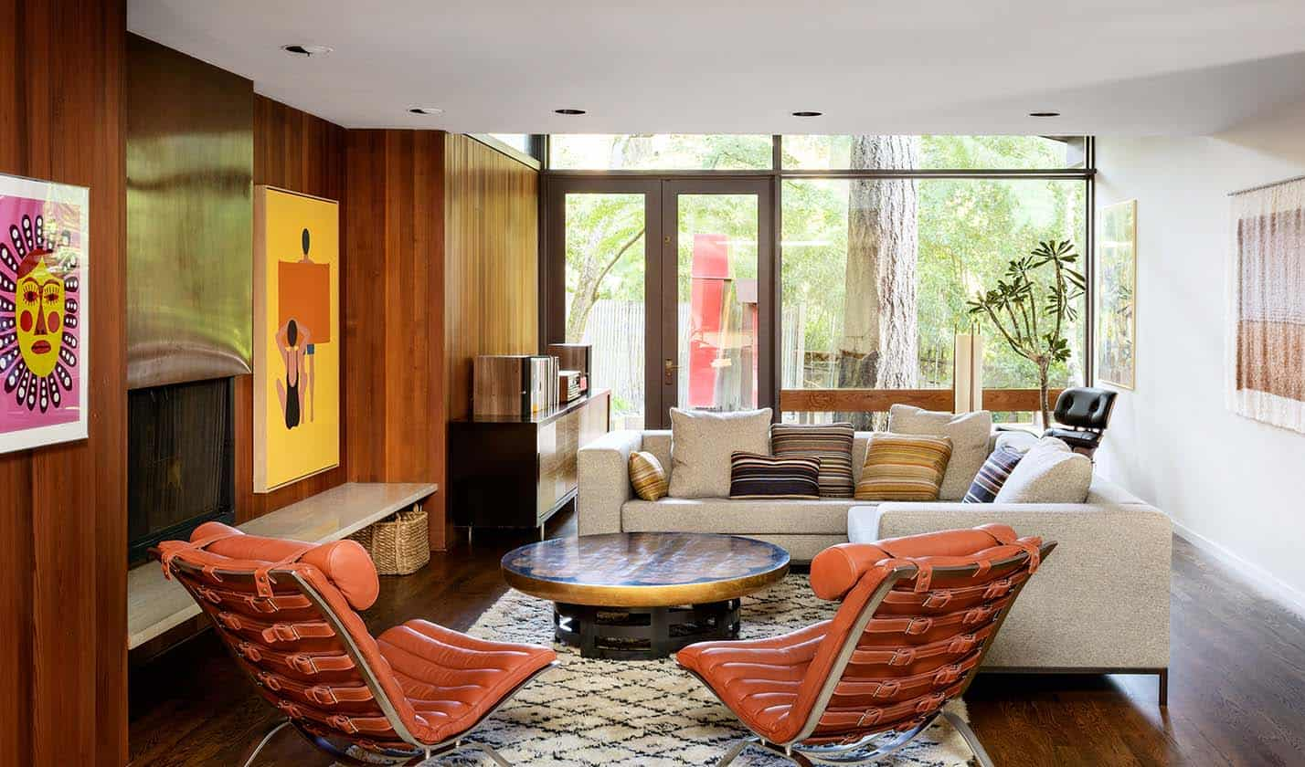 Mid Century Home In Portland Celebrates Its History With A