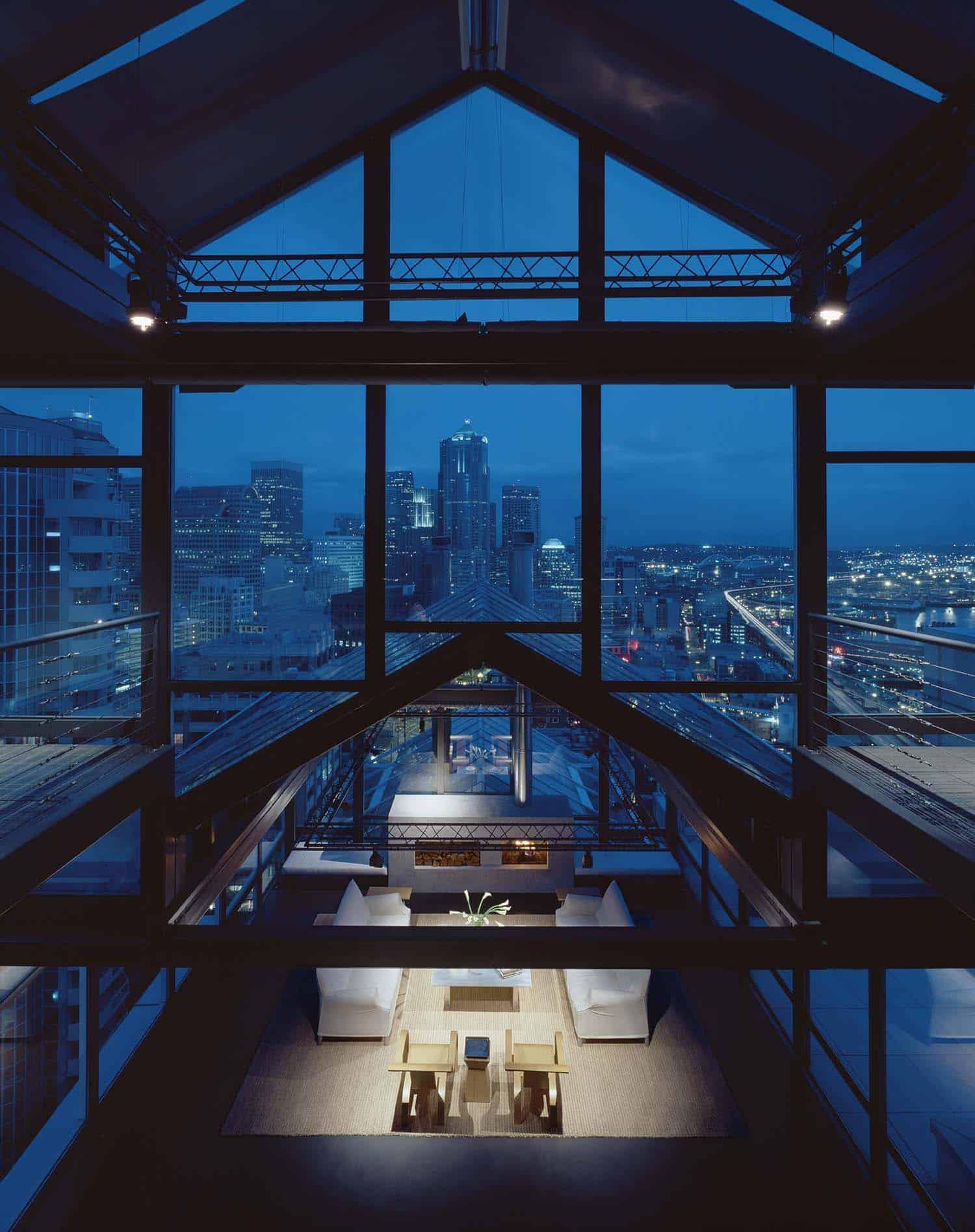 Minimalist Penthouse Apartment-Rocky Rochon Design-02-1 Kindesign