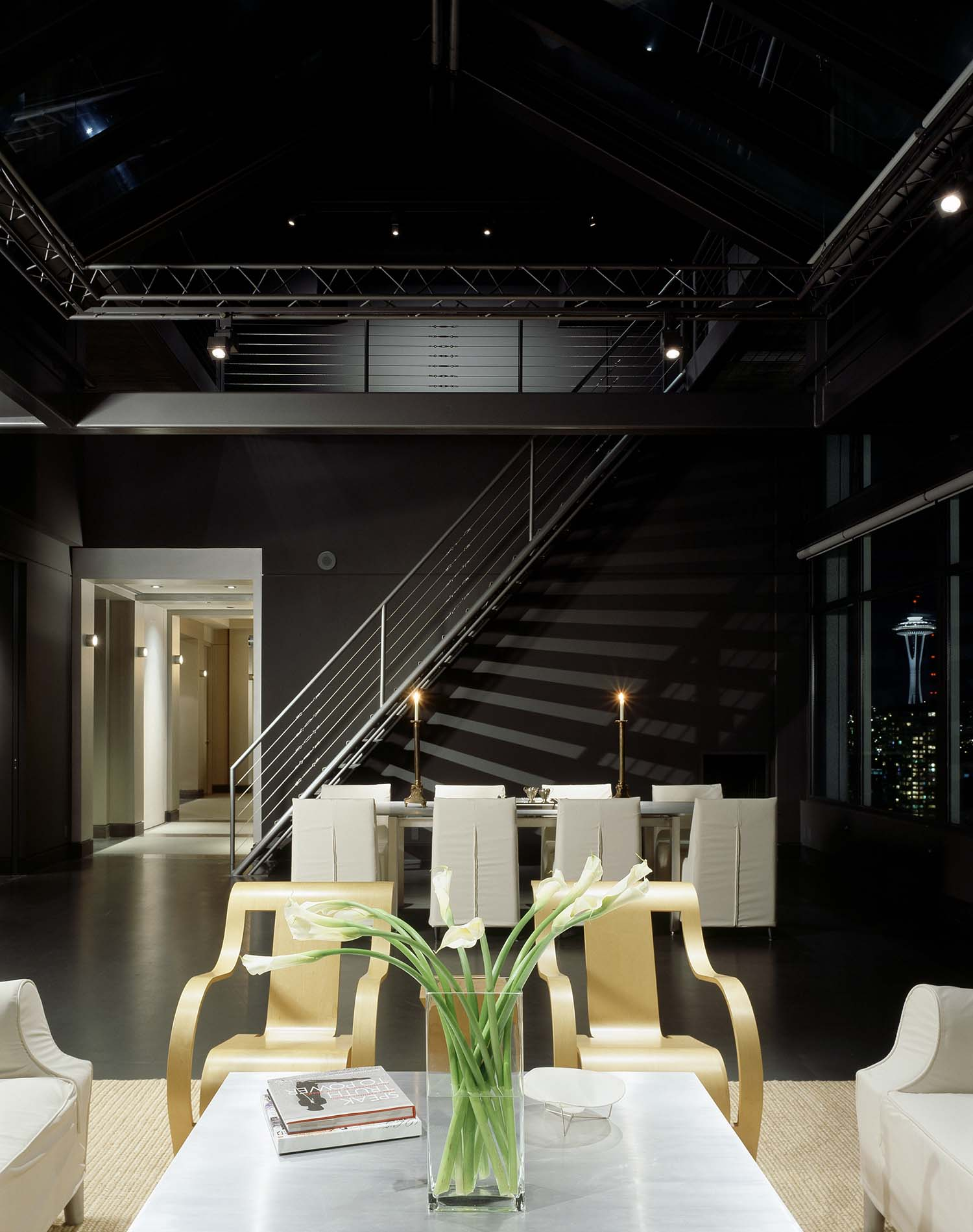 Minimalist Penthouse Apartment-Rocky Rochon Design-03-1 Kindesign