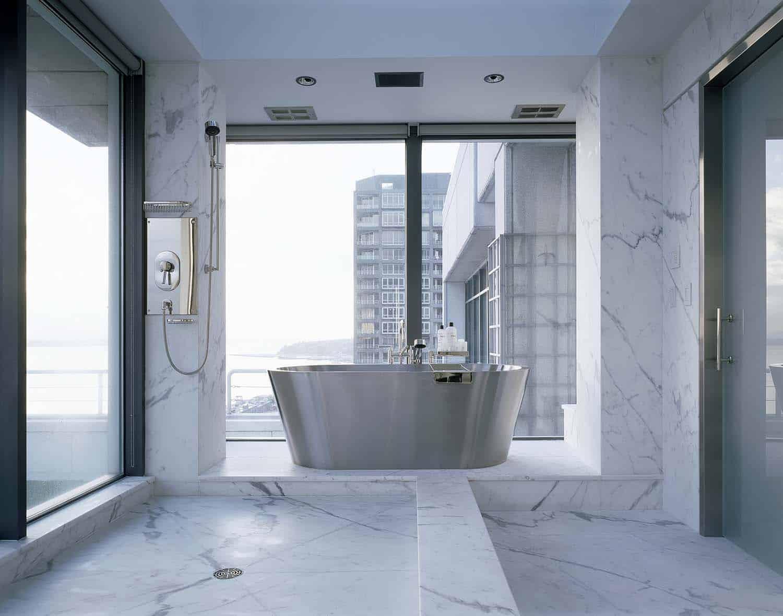 Minimalist Penthouse Apartment-Rocky Rochon Design-08-1 Kindesign