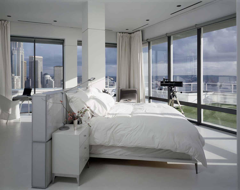 Minimalist Penthouse Apartment-Rocky Rochon Design-09-1 Kindesign