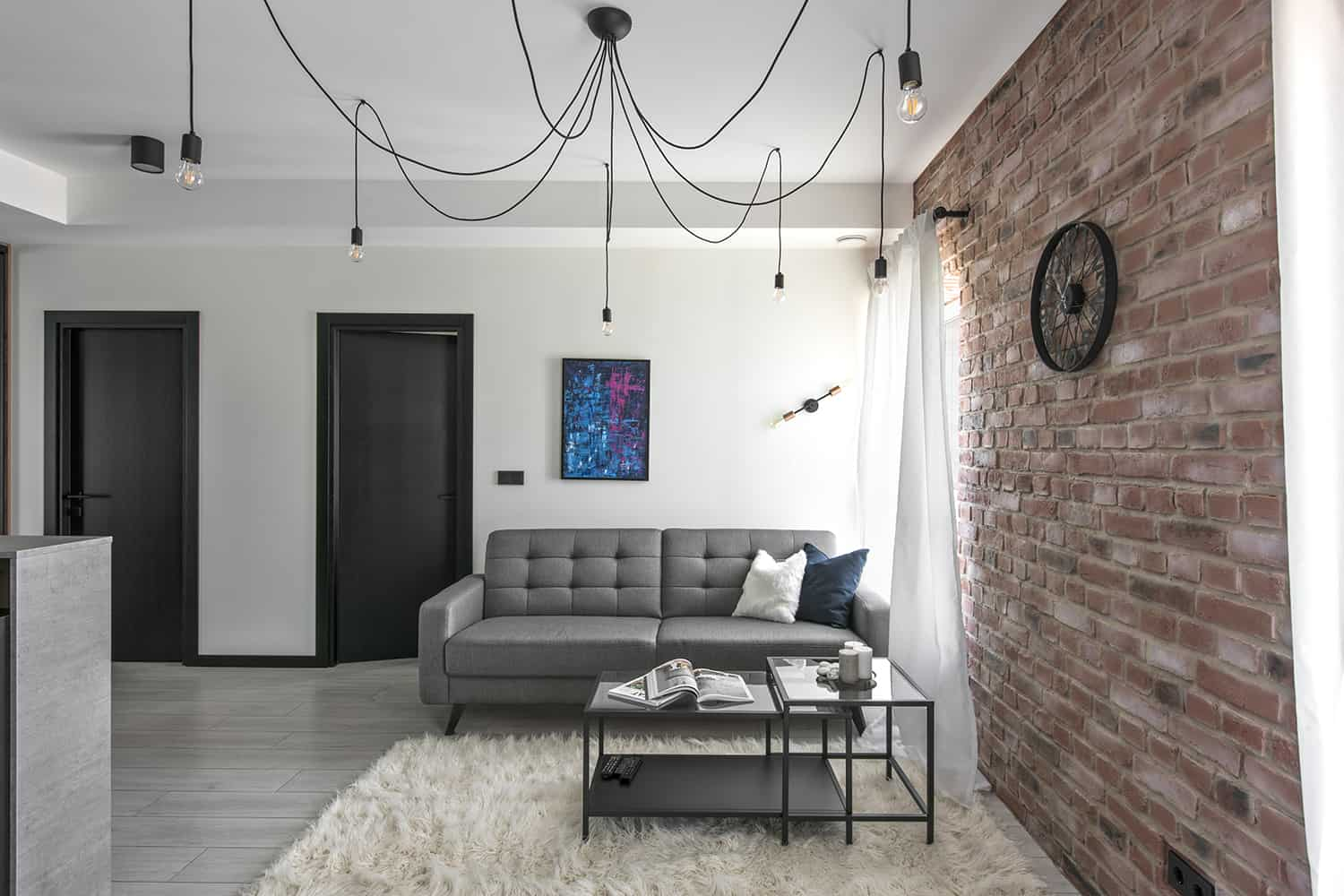 Modern Industrial Apartment-Authentic Interior-03-1 Kindesign
